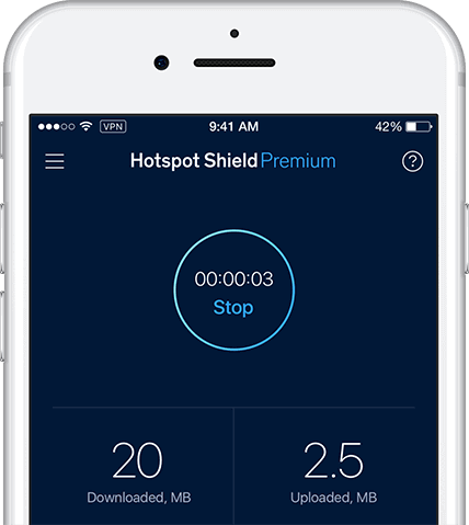 Hotspot Shield iphone vpn for iOS